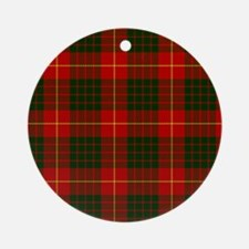 Clan Cameron - Just Tartan Ornament (Round)