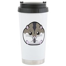 Fat Russian Dwarf Hamster Travel Mug