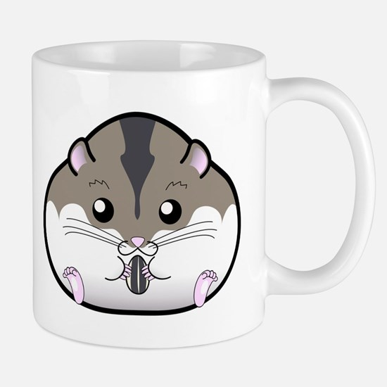 Fat Russian Dwarf Hamster Mugs