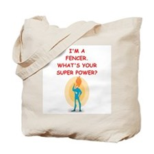 FENCER Tote Bag