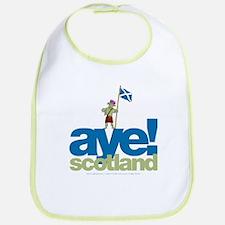 Aye Scotland Bib