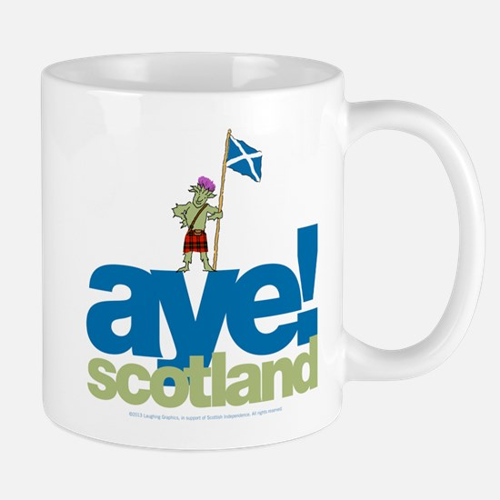 Aye Scotland Mug