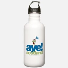 Aye Scotland Sports Water Bottle