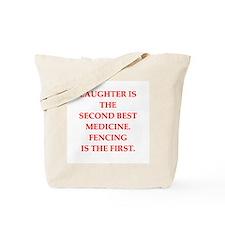FENCING2 Tote Bag