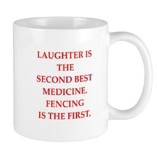 FENCING2 Mugs
