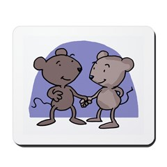 Mice In Love Mousepad