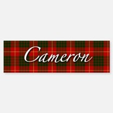 Clan Cameron - Just Tartan Bumper Car Car Sticker
