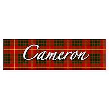 Clan Cameron - Just Tartan Bumper Car Sticker