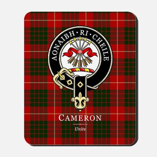 Clan Cameron - Just Tartan Mousepad