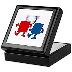 Square Dancing Keepsake Box