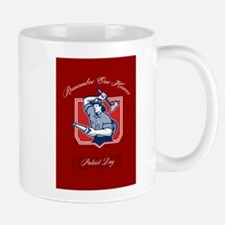 Fireman Remember Our Heroes Poster Mugs