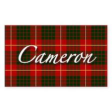 Clan Cameron - Just Tartan Rectangle Decal