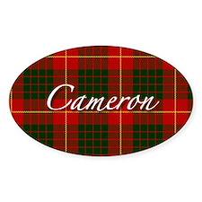 Clan Cameron - Just Tartan Oval Decal