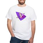 80s Cupid White T-Shirt