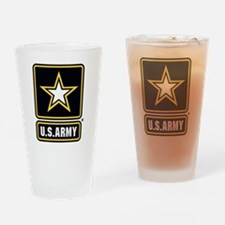 U.S. Army Drinking Glass