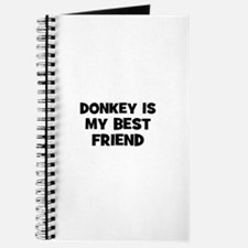 donkey is my best friend Journal