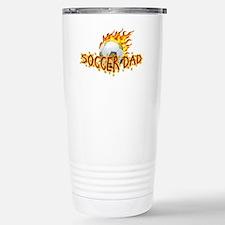 Soccer Dad! Stainless Steel Travel Mug