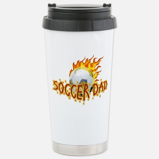 Soccer Dad! Stainless Steel Travel Mug