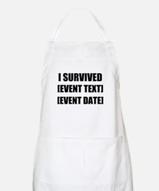 I Survived Personalize It! Apron
