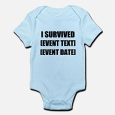 I Survived Personalize It! Body Suit