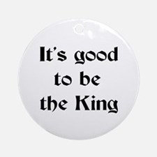 king good Ornament (Round)