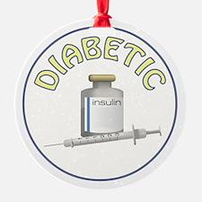 DIABETIC Ornament