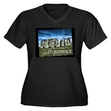 Stonehenge Great Britain Plus Size T-Shirt