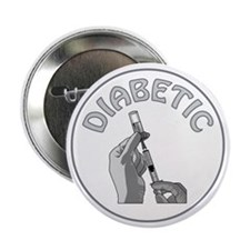 "DIABETIC 2.25"" Button (100 pack)"