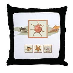Mautiius beach Throw Pillow