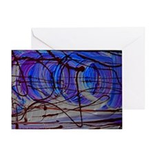 abstract design 2 Greeting Card