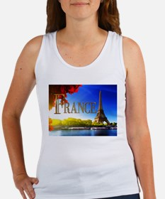 France on the Seine Tank Top