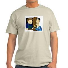At Your Door Ash Grey T-Shirt