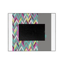 Her Side His Side Chevron Picture Frame