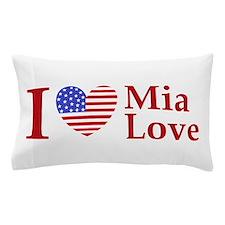 Mia Love I Love large Pillow Case