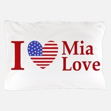 Mia Love I Love large Pillow Case