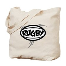 Rugby Tribal Tote Bag