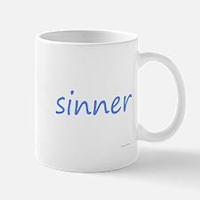 sinner blue Mug