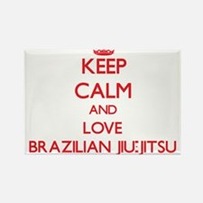 Keep calm and love Brazilian Jiu-Jitsu Magnets