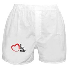 Love is all you need, Heart is all you need Boxer