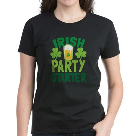 IRISH PARTY STARTER with a pint glass beer and sha