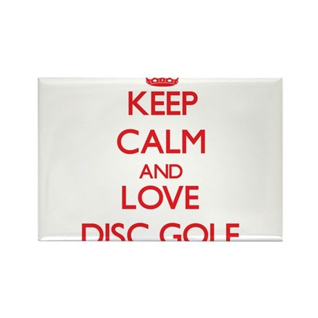 Keep calm and love Disc Golf Magnets