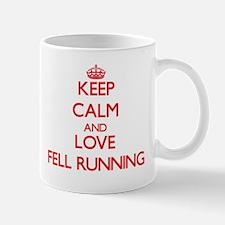 Keep calm and love Fell Running Mugs