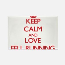 Keep calm and love Fell Running Magnets