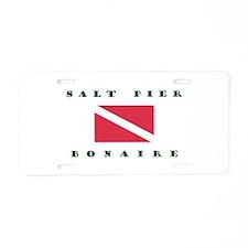 Salt Pier Bonaire Aluminum Aluminum License Plate