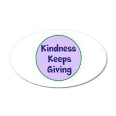 Kindness Keeps Giving Wall Decal