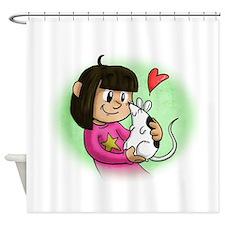 Cute Pet rats Shower Curtain