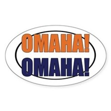 Omaha Omaha Decal