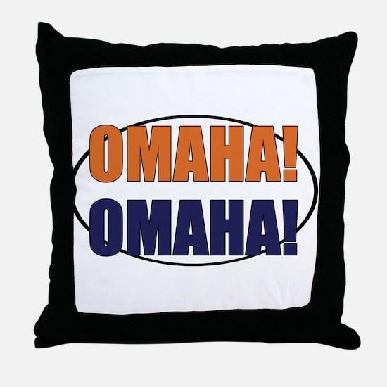 Omaha Omaha Throw Pillow