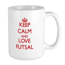 Keep calm and love Futsal Mugs