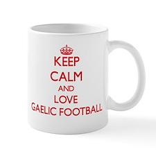 Keep calm and love Gaelic Football Mugs